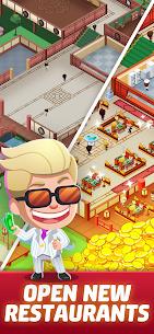 Idle Restaurant Tycoon Apk + Alışveriş Hileli indir v1.2.1 4