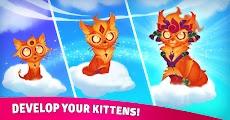 Merge Cats: Magic merging, garden renovation gamesのおすすめ画像3