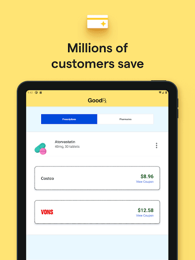 GoodRx: Prescription Drugs Discounts & Coupons App apktram screenshots 21
