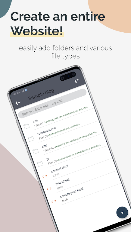 TrebEdit - Mobile HTML Editor  poster 1