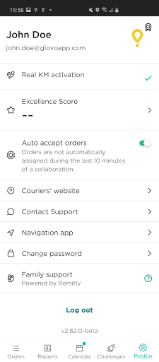Glovo Courier android2mod screenshots 2