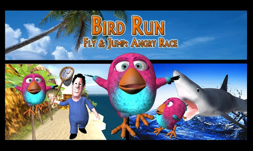 ud83dudc4d Bird Run, Fly & Jump: Angry Race apkdebit screenshots 2