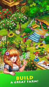 Free Farmdale  farming games  town with villagers Apk Download 2021 1