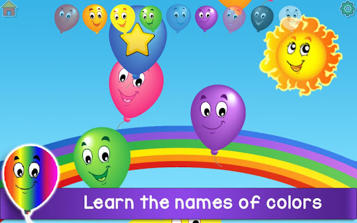 Kids Balloon Pop Game Free ud83cudf88  screenshots 5