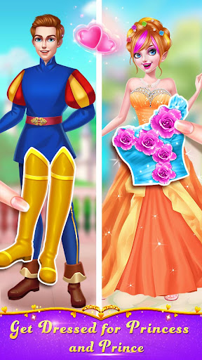 ud83cudf39ud83eudd34Magic Fairy Princess Dressup - Love Story Game 2.6.5038 screenshots 2