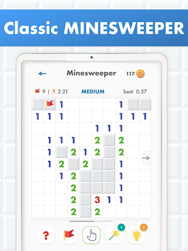 Minesweeper Puzzle Game - Free For Android 4.0 screenshots 10