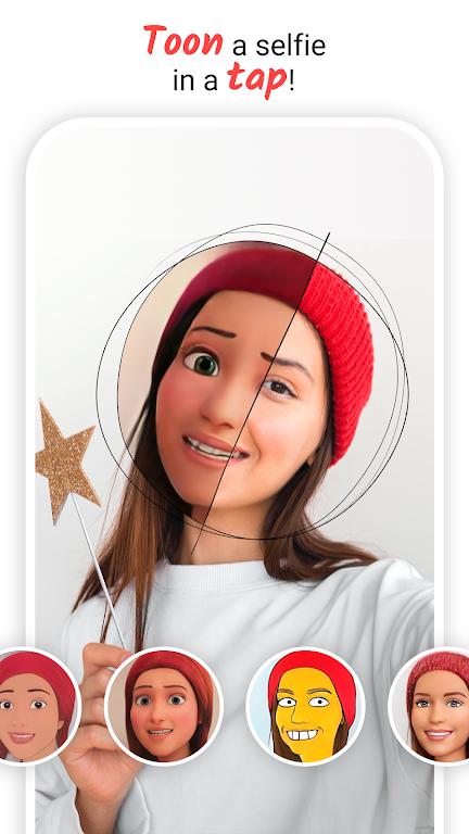 ToonMe - Cartoon yourself photo editor MOD poster 1
