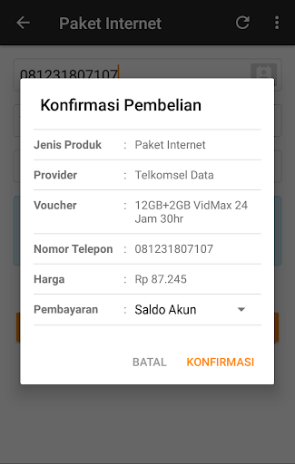 Paket Data++ Native App for Reseller 19.12.24 Screenshots 4