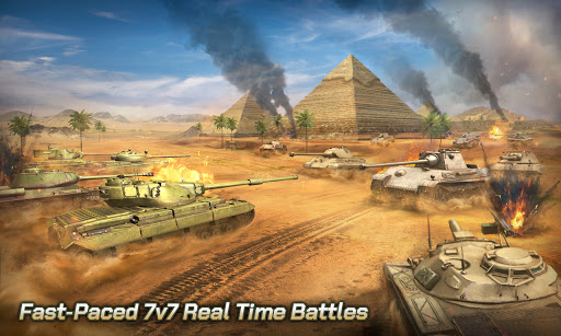 Tank Legion PvP MMO 3D tank game for free apkslow screenshots 8