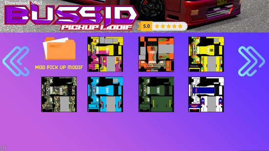 Mod Bussid Pick Up Terpal 1.0 Screenshots 7