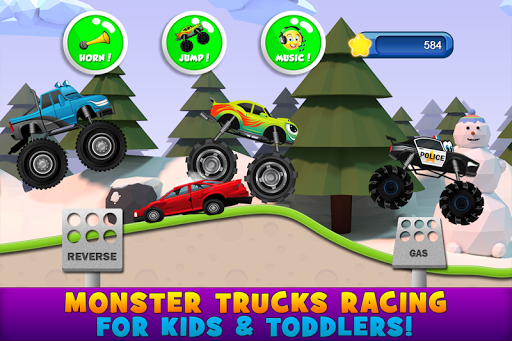 Download Monster Trucks Game for Kids 2 2.7.2 screenshots 1
