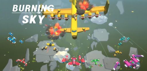 Screenshot of Burning Sky: Aircraft Combat 3D