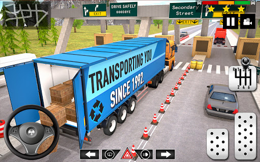Cargo Delivery Truck Parking Simulator Games 2020 1.31 screenshots 11