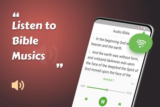 King James Bible (KJV) - Free Bible Verses + Audio android2mod screenshots 22