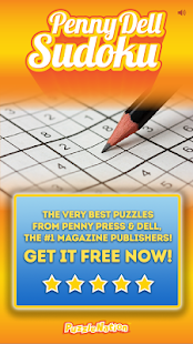 Sudoku (Full): Free Daily Puzzles by Penny Dell