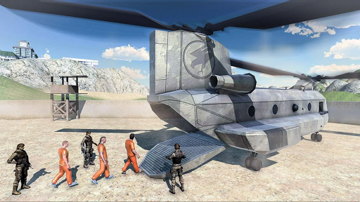Army Prisoner Transport & Army Plane Game 3d  Pc-softi 4