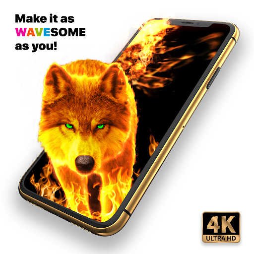 Live Wallpapers 4k & HD Backgrounds by WAVE 4.5.5 Screenshots 1
