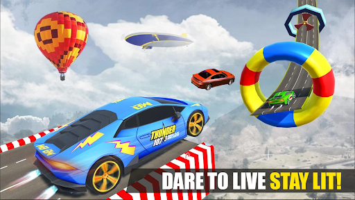 Car Stunt Racing - Mega Ramp Car Jumping apklade screenshots 2