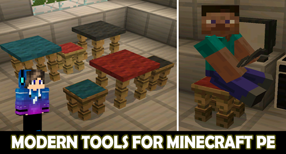 Modern Tools for Minecraft PE
