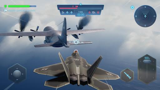 Sky Warriors: Airplane Combat  screenshots 2