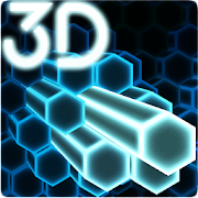 Gyro Hex Particles 3D Live Wallpaper