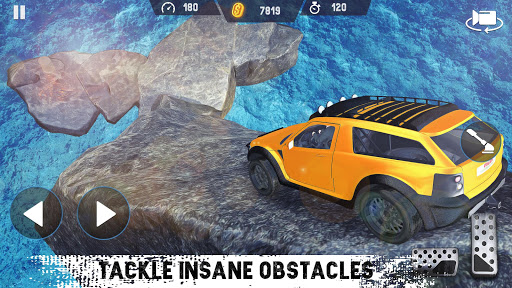 4x4 Car Drive 2021 : Offroad Car Driving SUV  screenshots 7