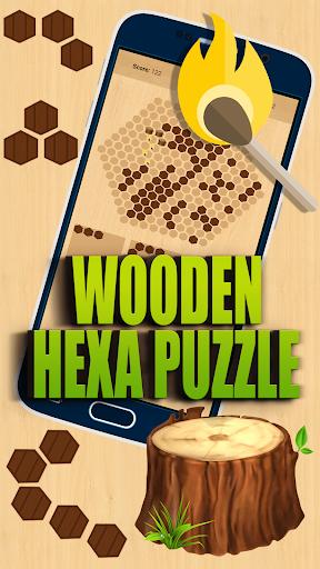 wooden hexa puzzle screenshot 1