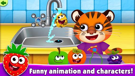 FunnyFood Kindergarten learning games for toddlers 2.4.1.19 Screenshots 18