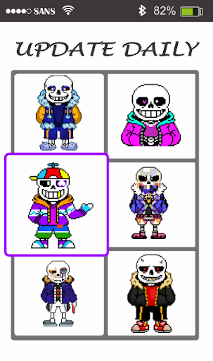 Sans Pixel Art - Paint By Number modavailable screenshots 2