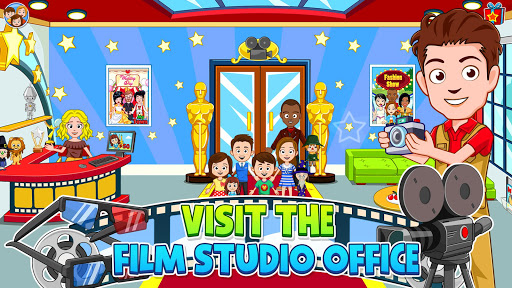 My Town : Cinema & Movie Star - Kids Movie Night 1.10 screenshots 3