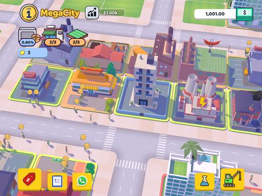 Corp City: Idle Corporation Strategy Games 1.7.0 screenshots 5