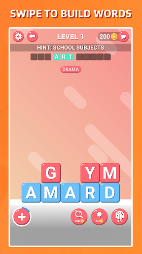 Block Words Search - Classic Puzzle Game 1.8 Screenshots 2