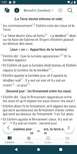 Bible de Yéhoshoua Mashiah  screenshots 1