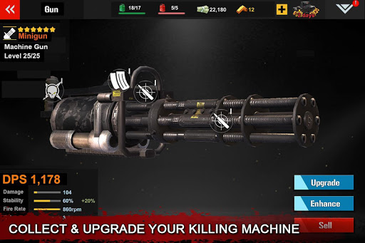 DEAD WARFARE: RPG Zombie Shooting - Gun Games Apkfinish screenshots 11