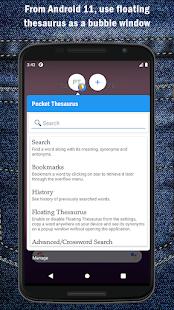 Pocket Thesaurus Screenshot