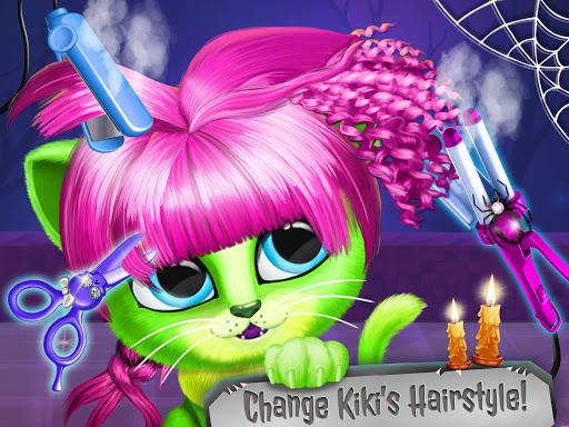 Kiki & Fifi Halloween Salon - Scary Pet Makeover  Screenshots 14