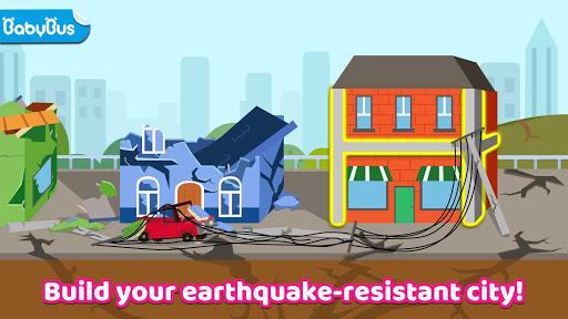 Baby Panda's Earthquake-resistant Building  screenshots 1