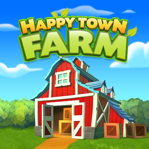 Happy Town Farm: Farming Games & City Building