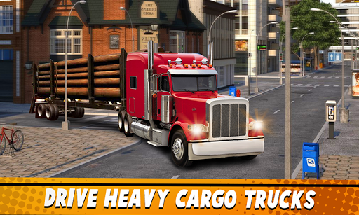 Euro Truck Simulator 2 : Cargo Truck Games 1.9 Screenshots 1