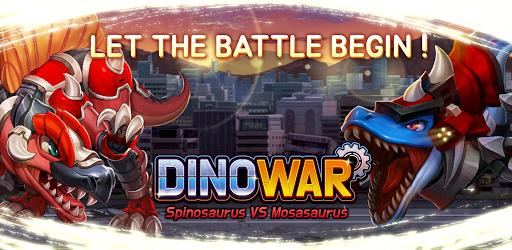 Dino War Spino VS Mosa  screenshots 1