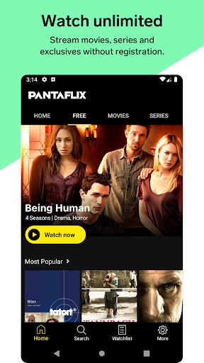 Foto do PANTAFLIX – Watch movies & TV shows