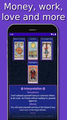 Tarot android2mod screenshots 2