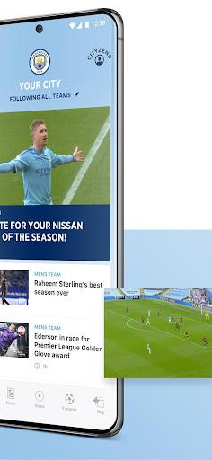 manchester city official app screenshot 2