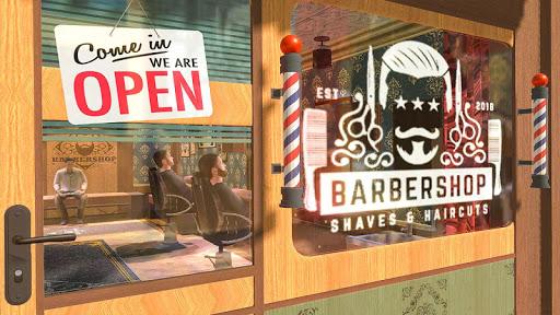 Barber Shop Hair Cut Salon- Hair Cutting Game 2020 screenshots 1