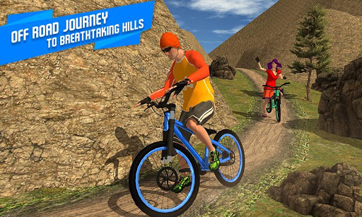 BMX Offroad Bicycle rider Superhero stunts racing screenshots 5