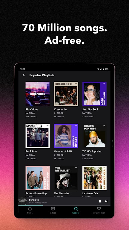 TIDAL Music - Hifi Songs, Playlists, & Videos  poster 13
