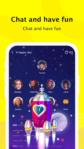 Partying - Group Voice Chat, Play with New Friends apktram screenshots 3