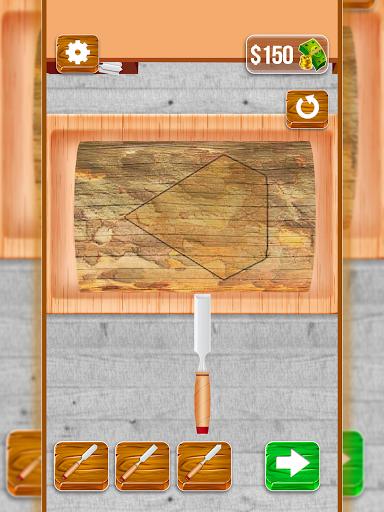 Wood Cutter - Wood Carving Simulator  screenshots 6
