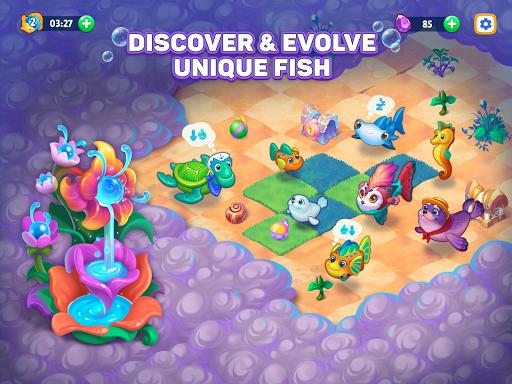 Sea Merge! Fish Games in Aquarium & Ocean Puzzle  screenshots 9