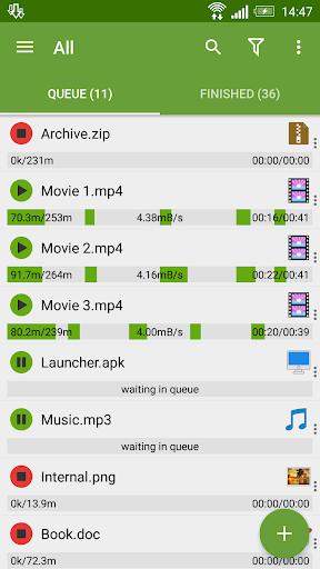 Advanced Download Manager & Torrent downloader 12.3.1 screenshots 1